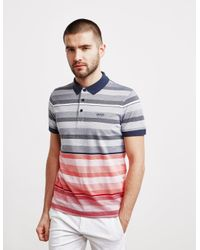 BOSS Paddy Short Sleeve Polo Shirt Navy Blue for men