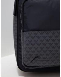 Emporio Armani Nylon Backpack Black for men