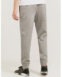 Armani Jeans - Gray Cuff Track Pant for Men - Lyst