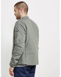 Penfield - Gray Mens Cirrus Primaloft Bomber Jacket Grey for Men - Lyst