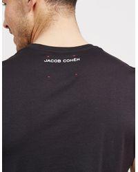 Jacob Cohen Samuri Short Sleeve T-shirt Black for men