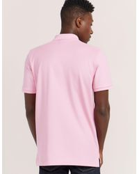 Psycho Bunny | Pink Basic Short Sleeve Polo Shirt for Men | Lyst