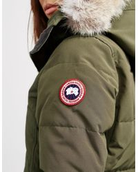 Canada Goose Lorette Parka Jacket Green