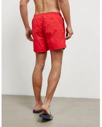 BOSS Mens Octopus Swim Shorts Red for men