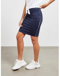 Tommy Hilfiger Piping Skirt Navy Blue