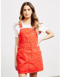 Tommy Hilfiger Classic Dungarees Red