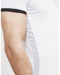 Emporio Armani Back Logo Short Sleeve T-shirt White for men
