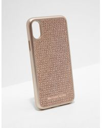 innovative design 8df1e aaa42 Womens Iphone X Phone Cover - Online Exclusive Rose Gold