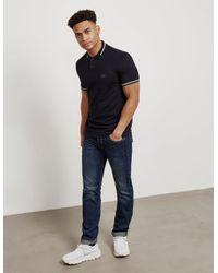 BOSS Paul Short Sleeve Polo Shirt Black for men