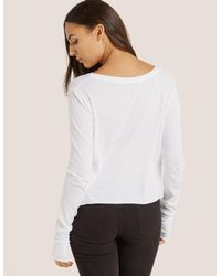 Wildfox - White Stressin' Top - Lyst