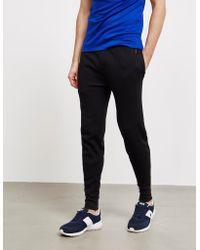Polo Ralph Lauren Underwear Mini Waffle Cuffed Fleece Pants Black for men