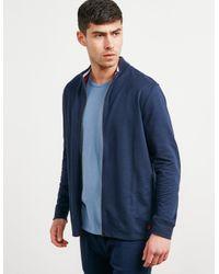 Polo Ralph Lauren Underwear Full Zip Sweatshirt Navy Blue for men