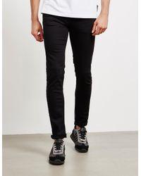Versace Jeans Skinny Jeans Black/black for men