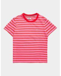 Tommy Hilfiger Pink Stripe Short Sleeve T-shirt