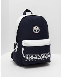 Napapijri Mens Happy Day Backpack Navy Blue in Blue for Men - Lyst