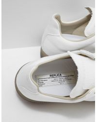 Maison Margiela - Mens Replica Trainers - Online Exclusive White - Lyst