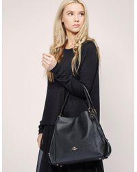 COACH | Black Edie 31 Shoulder Bag | Lyst