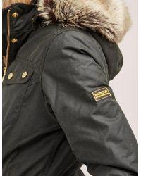 Barbour - Green International Malloy Waxed Jacket - Lyst