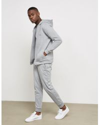BOSS Gray Mens Quilted Trim Track Pants - Online Exclusive Grey for men
