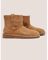 Ugg   Brown Classic Unlined Mini Boot   Lyst