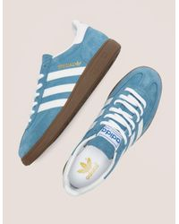 clearance sale various colors really cheap adidas Originals Suede Mens Spezial Blue/white/gum for Men ...