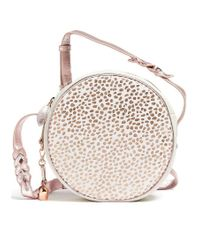 bell&fox White Canteen Pony Bag