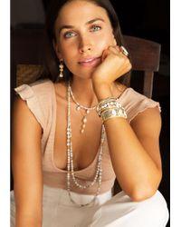 Anna Beck - Metallic White Howlite Beaded Necklace - Lyst