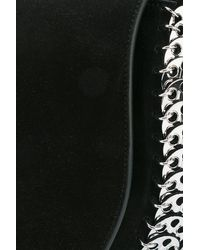 Paco Rabanne - Black 14#02 Half Moon Crossbody Bag - Lyst