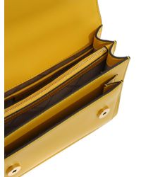 Borsa A Tracolla Jade Gialla di Michael Kors in Yellow