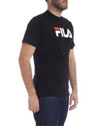 T-Shirt Classic Pure Nera di Fila in Black da Uomo