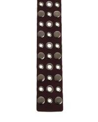 Pinko - Metallic Belt With Silver Metal Studs - Lyst
