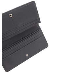 Marc Jacobs Multicolor Hammered Leather Wallet