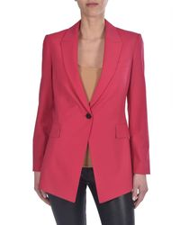 Giacca Etienette Color Watermelon di Theory in Pink