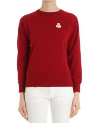 Étoile Isabel Marant - Red Makati Sweatshirt - Lyst