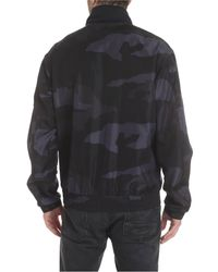Moncler Theodore Camoufalge Jacket In Black for men
