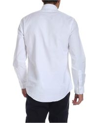 Brooks Brothers White Oxford Cotton Button Down Shirt for men