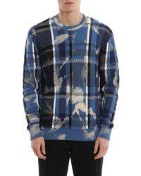 Pullover di Versace in Blue da Uomo