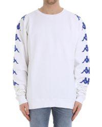 Kappa White Uzai Sweatshirt for men
