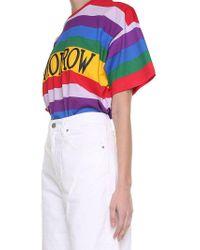 Alberta Ferretti - Multicolor Yesterday Oversized T-shirt - Lyst