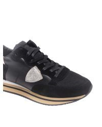 "Philippe Model Black ""tropez Higher"" Sneakers"