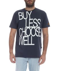 Vivienne Westwood Anglomania Gray Boxy Buy Less Charcoal Grey T-shirt for men