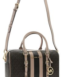 Bauletto Bedford Travel sui toni del marrone di Michael Kors in Brown