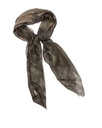 Etro Multicolor Modal And Cashmere Scarf for men