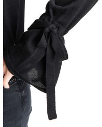 P.A.R.O.S.H. - Black Wool Sweater - Lyst