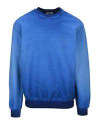 Opening Ceremony Blue Faded Print Sweatshirt for men