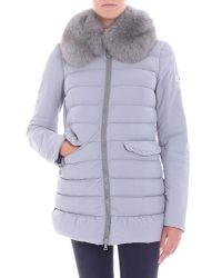 """Peuterey - Gray """"misae Ag"""" Grey Down Jacket - Lyst"""