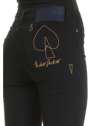 Jeans High Waisted Slim Nero di Vivienne Westwood Anglomania in Black