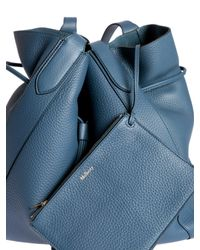 Mulberry Blue Millie Tote Bag In Nightfall Color