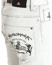 Vivienne Westwood Anglomania White Don Karnage Jeans for men