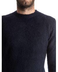 Aspesi Blue Wool Sweater for men